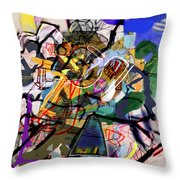Self-renewal 16k Throw Pillow