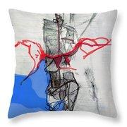 Self-renewal 21b Throw Pillow