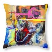 Self-renewal 23d Throw Pillow