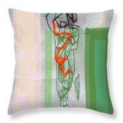 Self-renewal 8a Throw Pillow