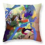 Self-renewal  9g Throw Pillow