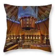 Agnes Flanagan Chapel Throw Pillow