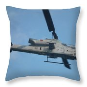 Ah-1 Cobra Throw Pillow
