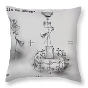 Ahmet Zogu Perralla Me Mbret Throw Pillow