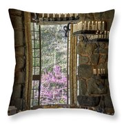 Ahwahnee Hotel--main Dining Room Throw Pillow
