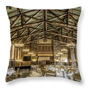 Ahwahnee Dining Room Throw Pillow