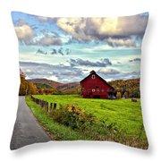Ah...west Virginia Throw Pillow by Steve Harrington