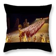 Beautiful Aida Throw Pillow