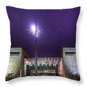 Air And Space Museum Throw Pillow