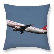 Air Arabia Maroc Airbus A320 Throw Pillow