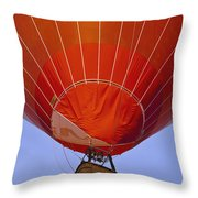 Air Balloon Festival In Igualada Throw Pillow