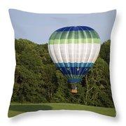 Air Balloons  0458 Throw Pillow