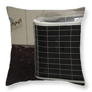 Air Conditioner Throw Pillow