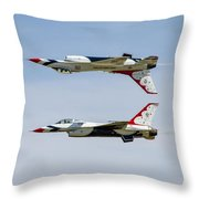 Air Force Thunderbirds Throw Pillow