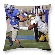 Air Force Versus Notre Dame Throw Pillow