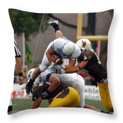 Air Force Versus Wyoming Throw Pillow