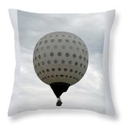 Air Golf  Throw Pillow