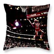 Air Jordan II Throw Pillow