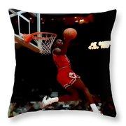 Air Jordan Reverse Slam Throw Pillow