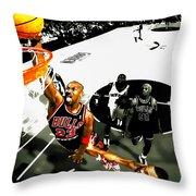 Air Jordan Rises Throw Pillow