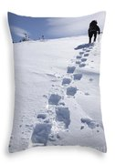 Air Line Trail - White Mountains New Hampshire Throw Pillow