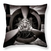 Air Power Throw Pillow