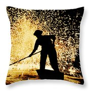 Air Raid Wardens 1941 Throw Pillow