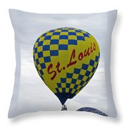 Air St. Louis Throw Pillow