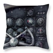 Air - The Cockpit Throw Pillow