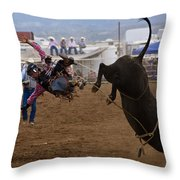 Airborne Throw Pillow