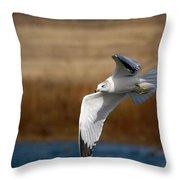 Airborne Seagull Series 1 Throw Pillow