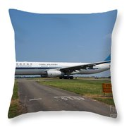 Airbus A330 Throw Pillow