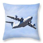 Airbus A400m Throw Pillow