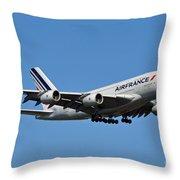 Airbus A80 Throw Pillow