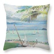 Airlie Beach  Australia Throw Pillow
