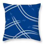 Airliners Gone Wild Throw Pillow