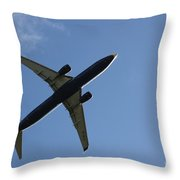 Airplane II Throw Pillow