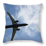 Airplane IIi Throw Pillow