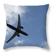 Airplane Iv Throw Pillow