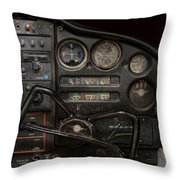 Airplane - Piper Pa-28 Cherokee Warrior - A Warriors View Throw Pillow