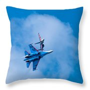 Airshow St Petersburg Russia Part 2 Throw Pillow