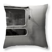 Airstream Throw Pillow
