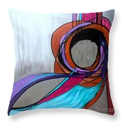 Aishet Chayil Woman Of Valor Throw Pillow