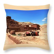 Ait Ben Haddou 10 Throw Pillow