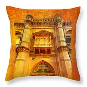 Aitchison College Throw Pillow