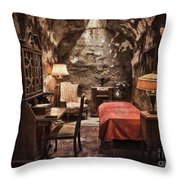 Al Capone's Cell Throw Pillow