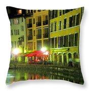 Al Fresco Throw Pillow by Douglas J Fisher