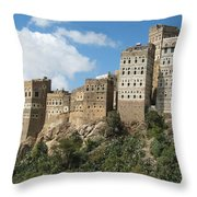 Al-hajarah  Throw Pillow