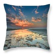 Al Hamra Sunset Throw Pillow