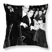 Al Jolson (1886-1950) Throw Pillow